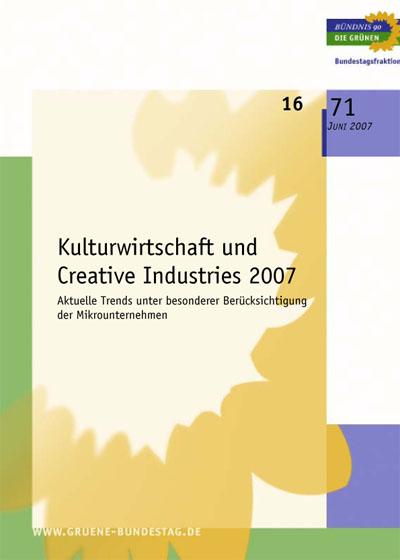 Deutsche Kulturwirtschaft / Creative Industries 2007